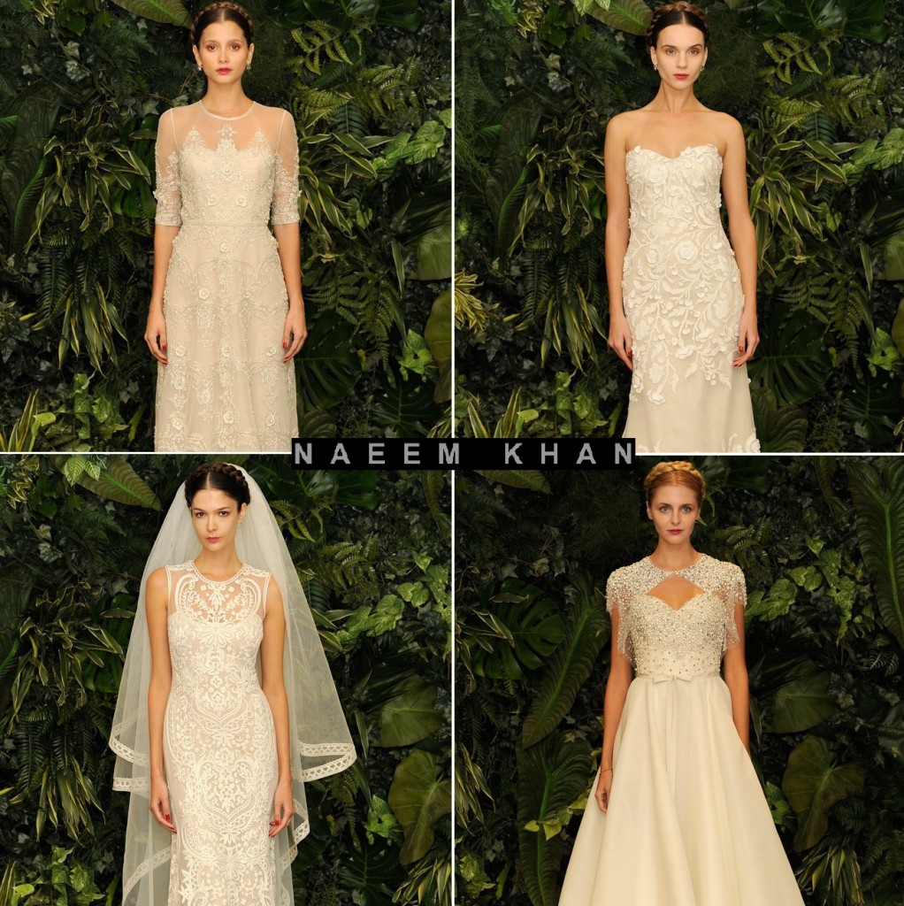 Naeem Khan Autumn Winter 2014 Bridal Collection