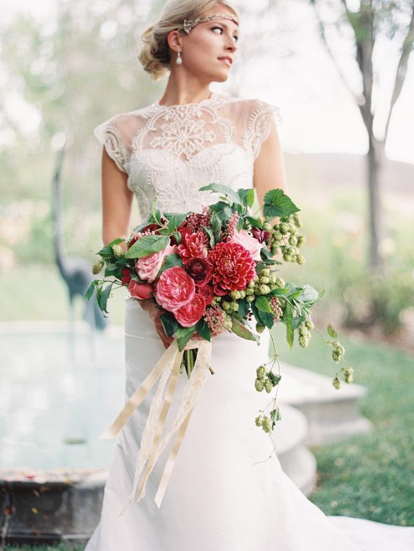 Great Gatsby Wedding Inspiration Shoot