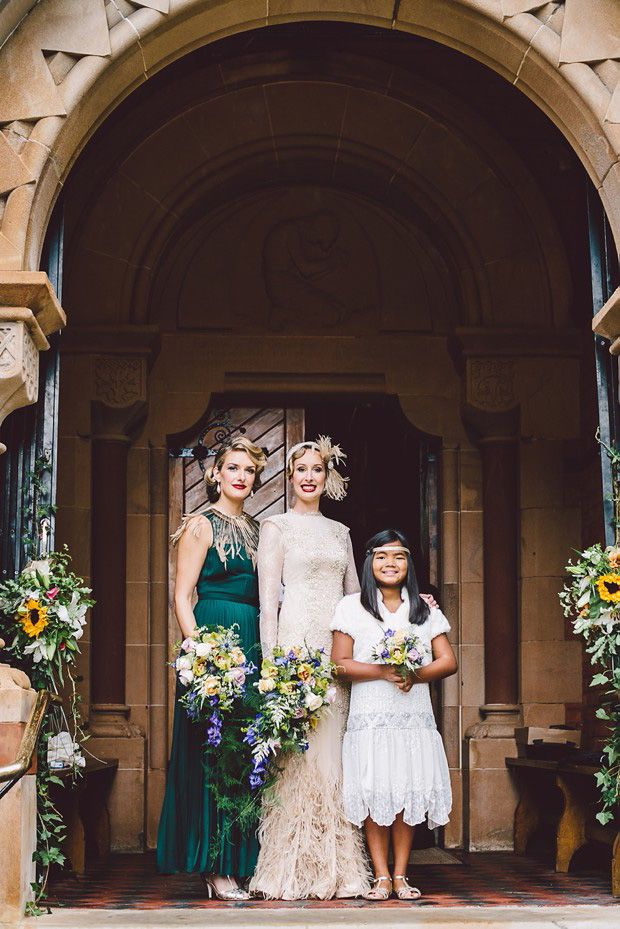 Fabulous 1920s Inspired English Wedding