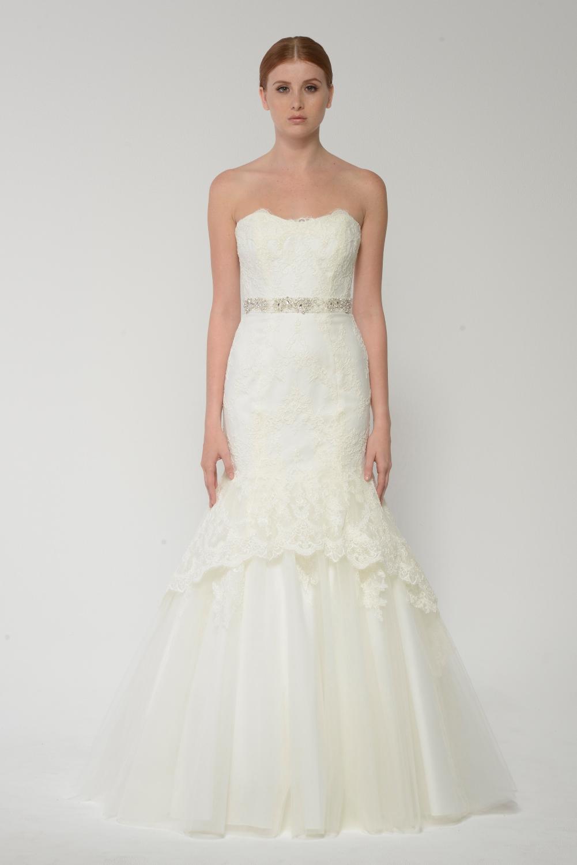 Monique Lhuillier Bliss Bridal Collection - BL 1415
