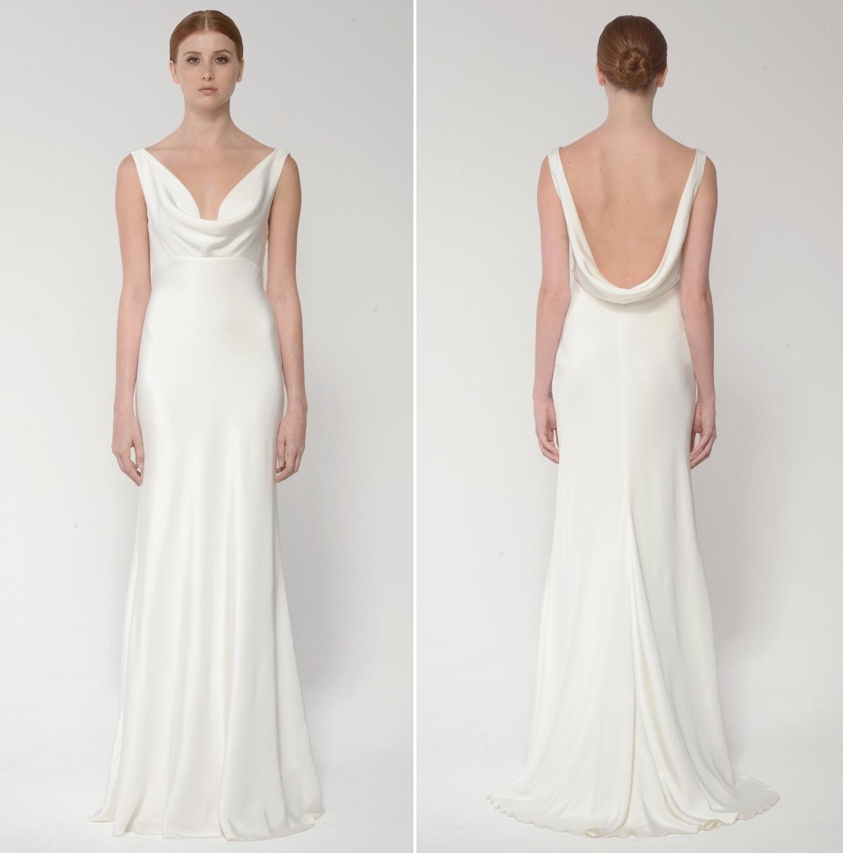 Monique Lhuillier Bliss Bridal Collection - BL 1432 Duo