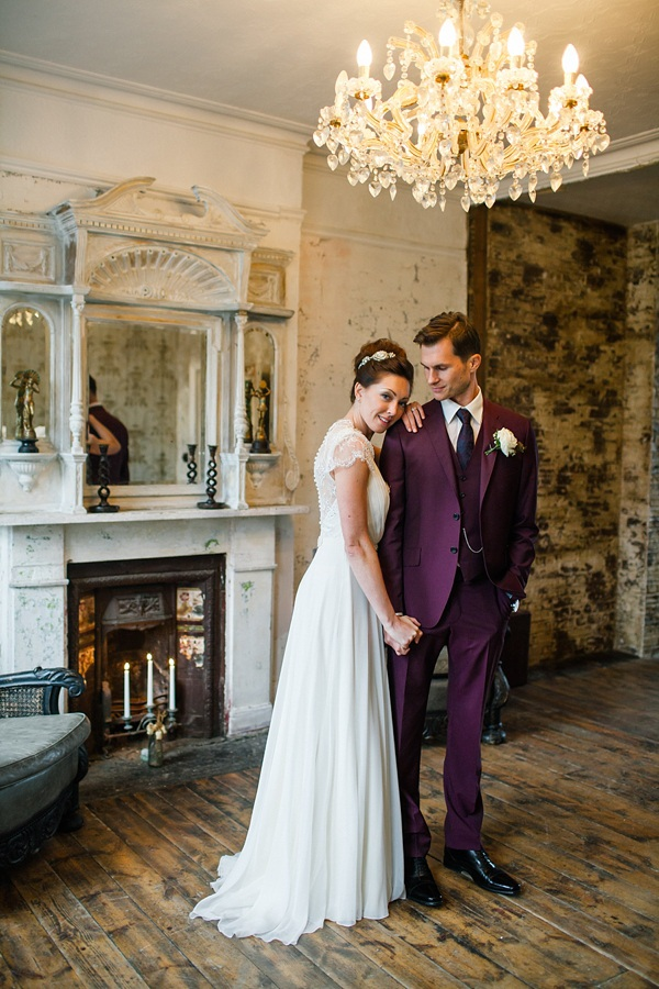 Jenny Packham Bride - Modern Vintage Hackney Wedding