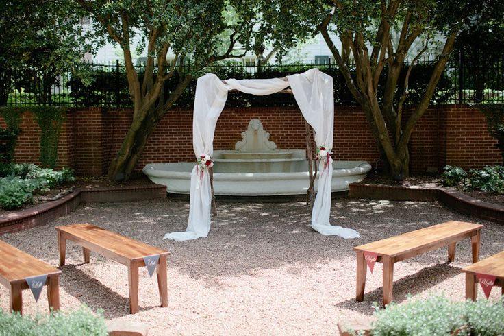 Aisle Style - Backyard Drapes