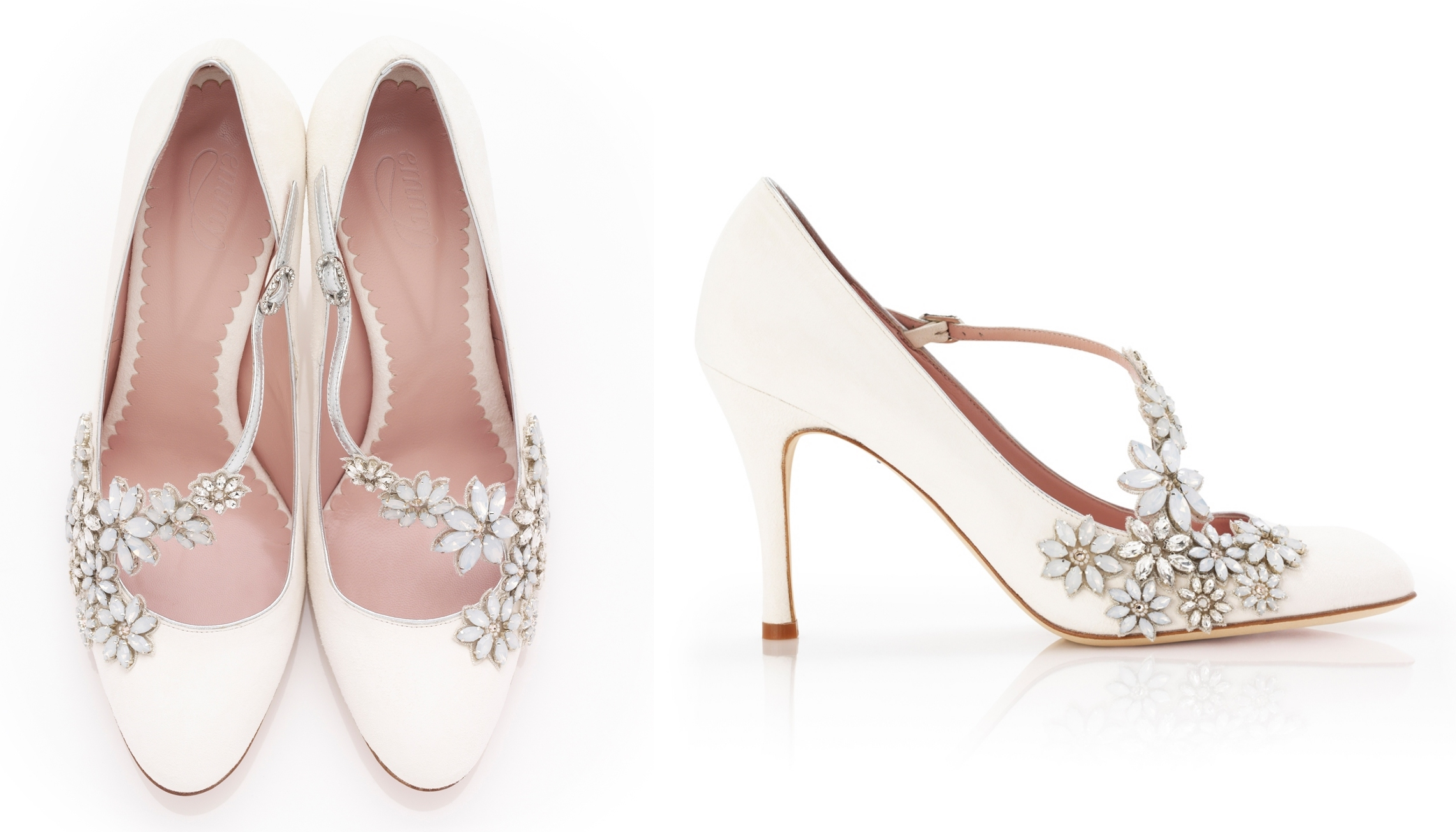 Daisy Ivory from the Celeste Collection by Emmy Shoes