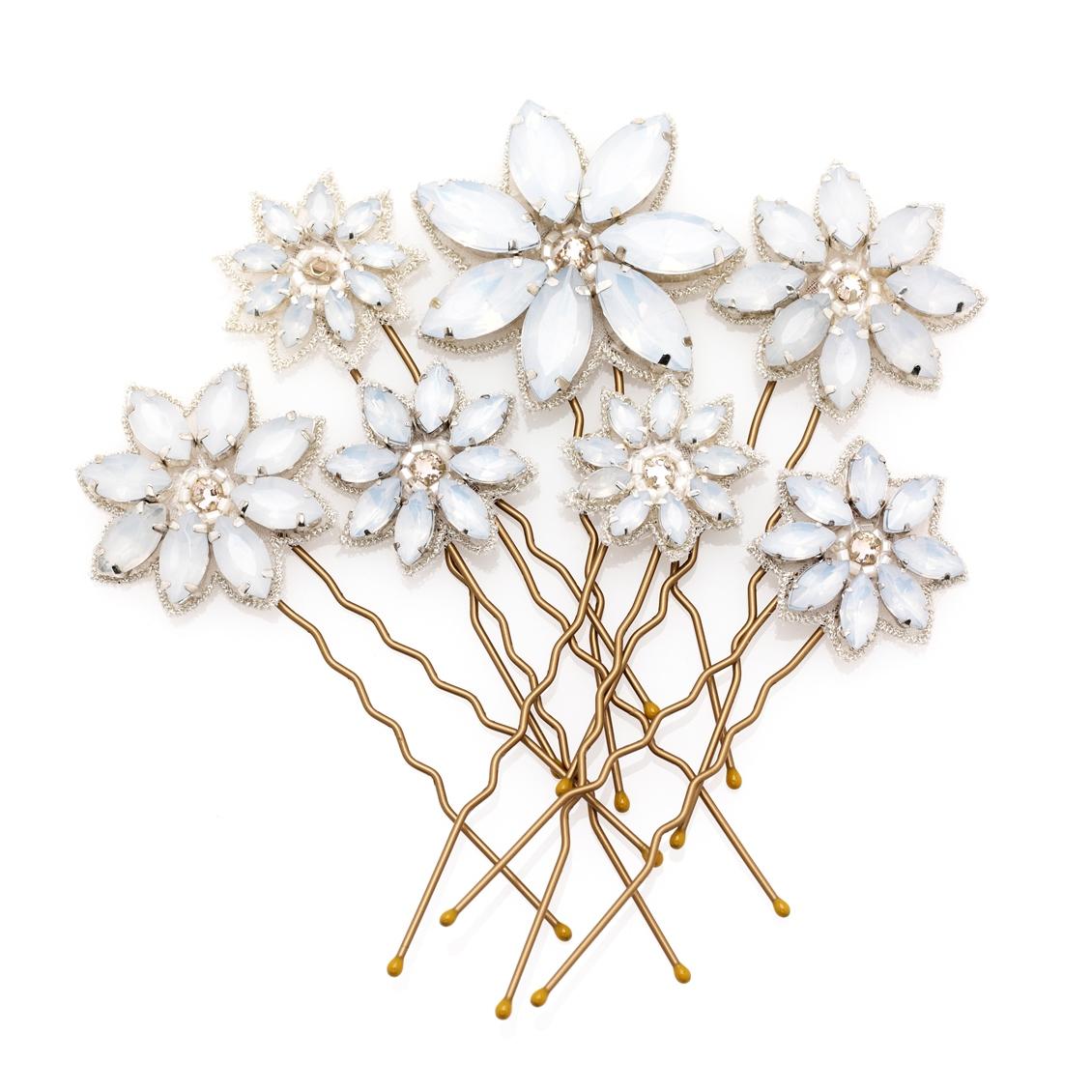 Flower Pins by Emmy