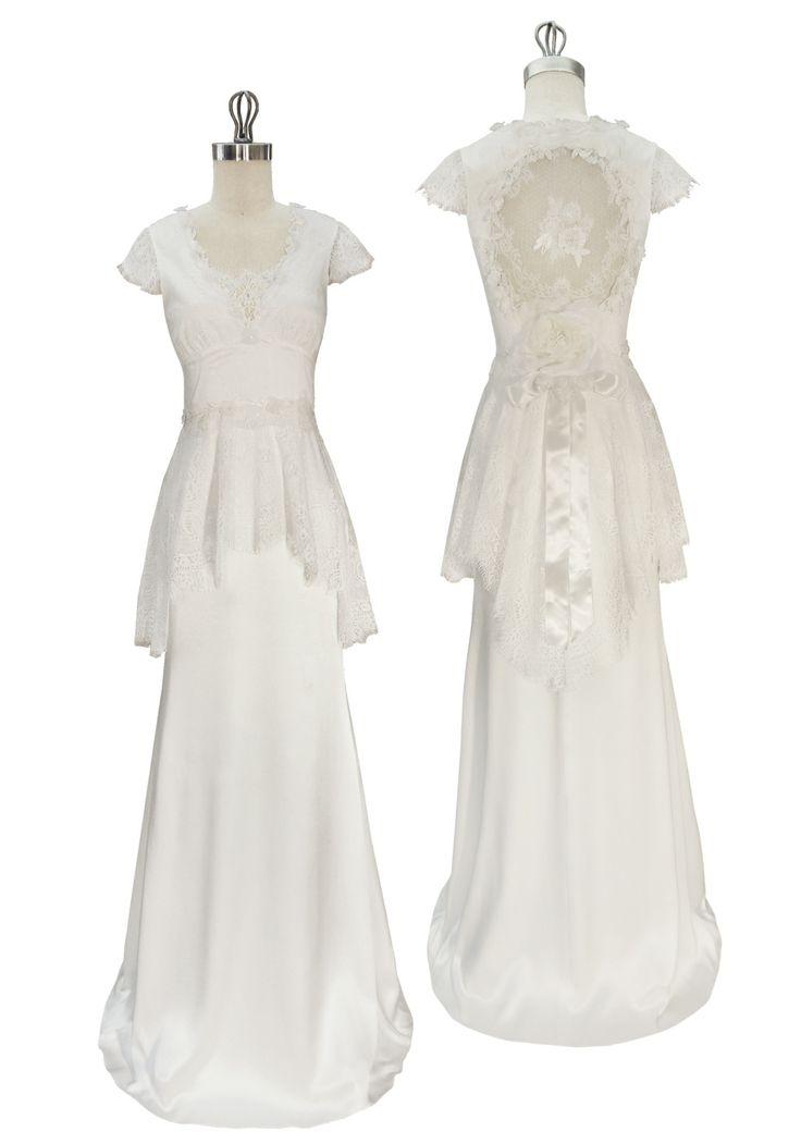 Claire Pettibone Wedding Dress - Gladys
