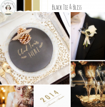 NYE Wedding Inspiration Board