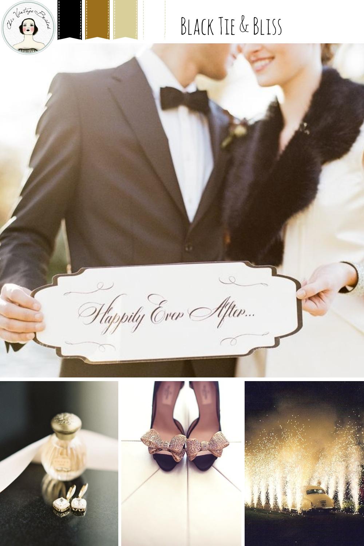 New Year's Eve Wedding Inspiration Board