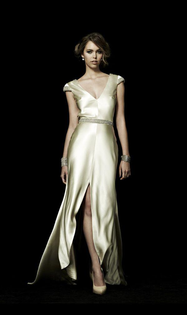 The Monaco Wedding Dress from Johanna Johnson