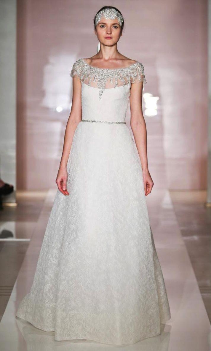 Reem Acra Fall 2014 Wedding Dress - Frances
