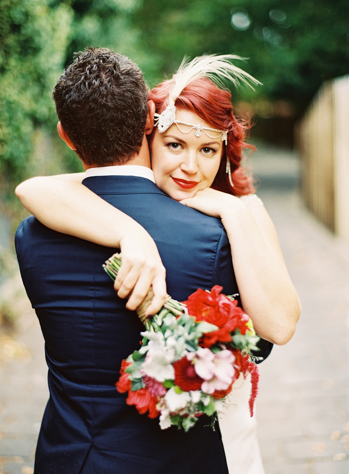 A Decadent Art Deco Inspired Wedding from Stewart Leishman
