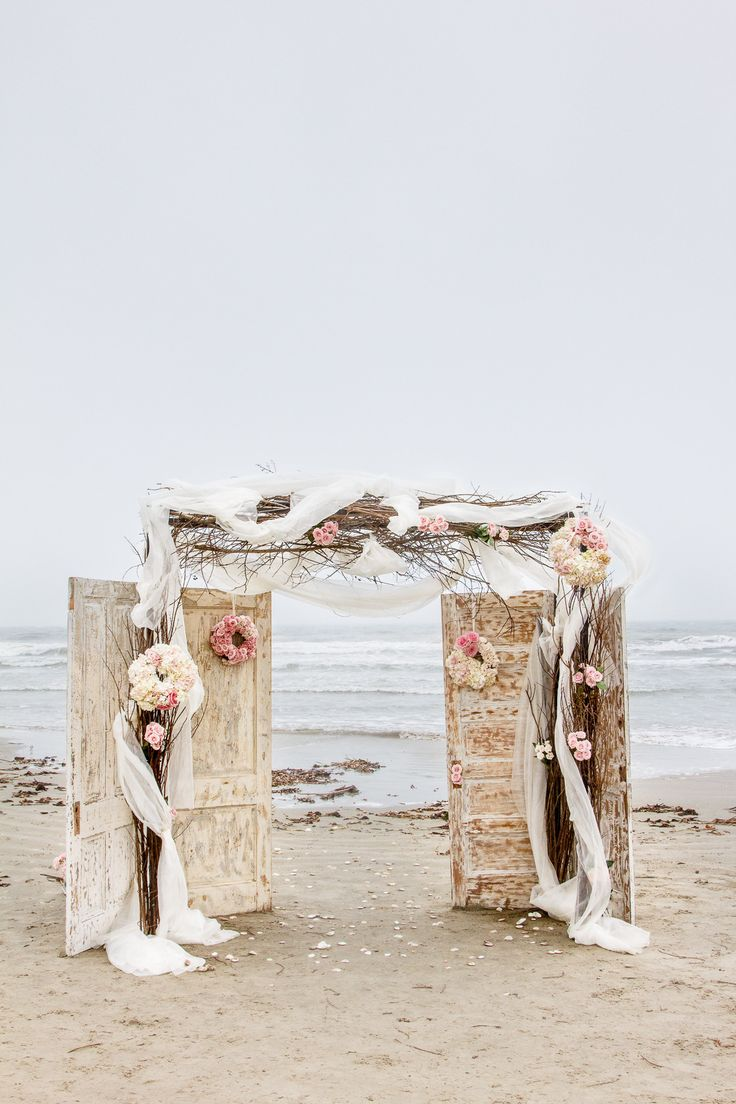 Beach Wedding Decor - Doors