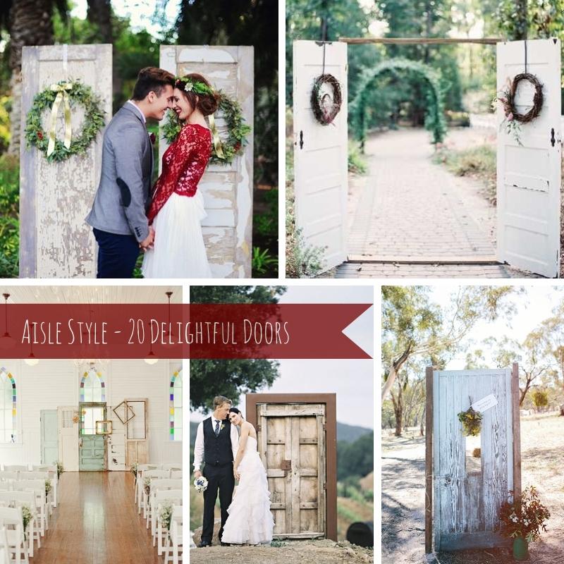 Aisle Style - 20 Delightful Doors