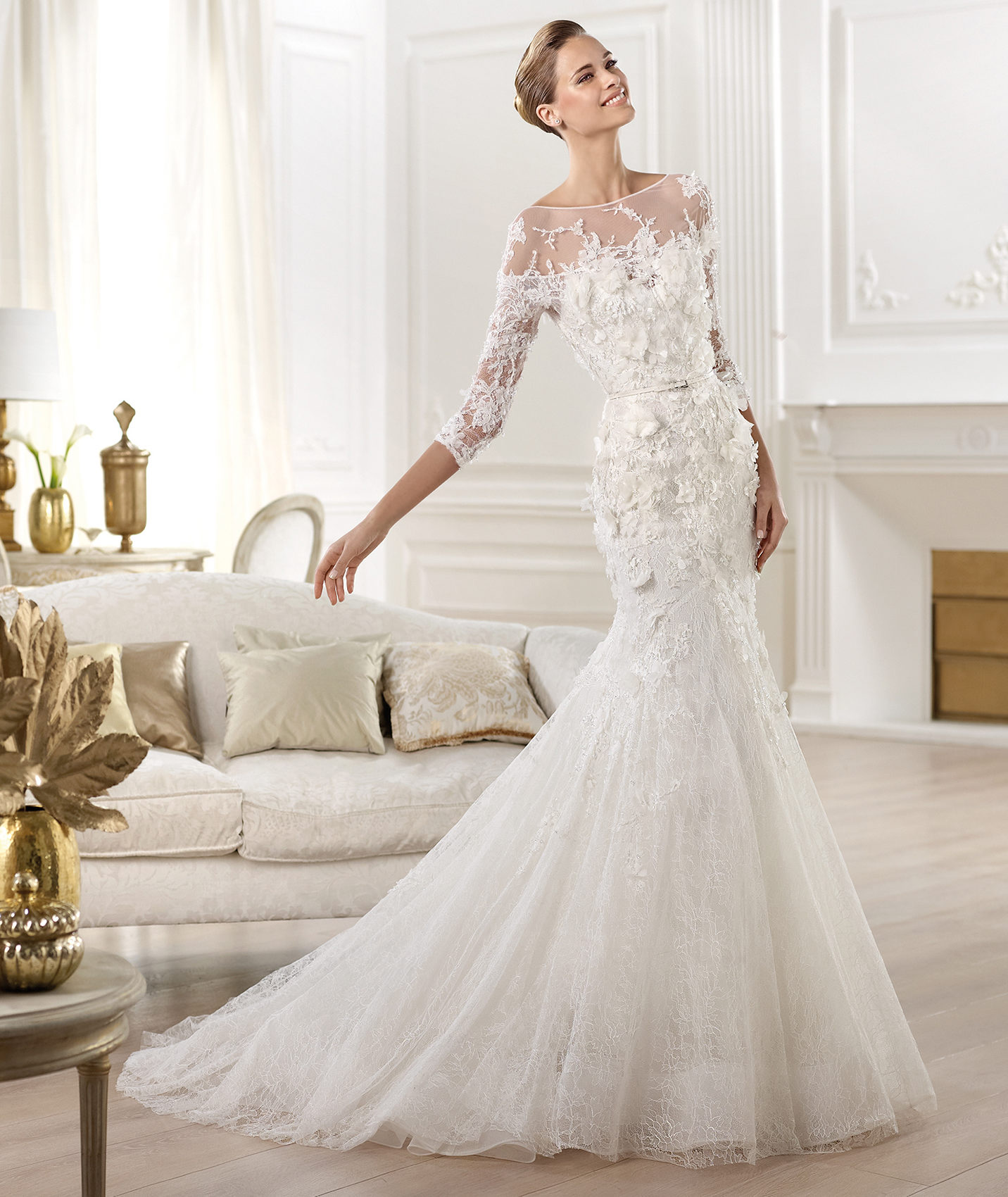 Fit & Flare Silhouettes - Elie Saab for Pronovias CIGNUS