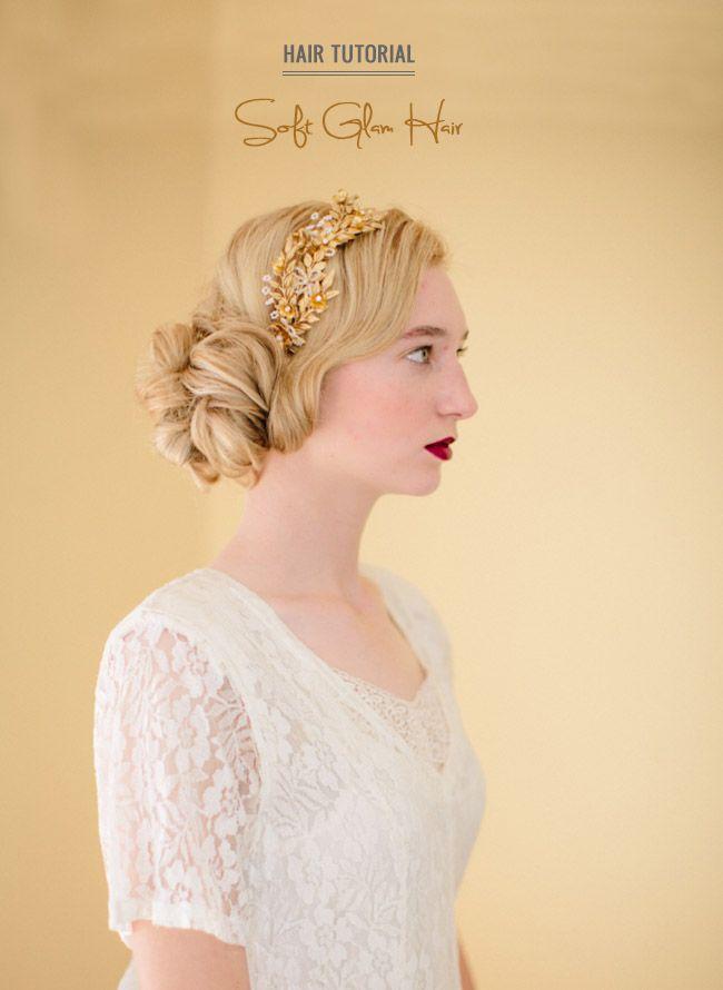 Hair Tutorial - Soft Glam Updo