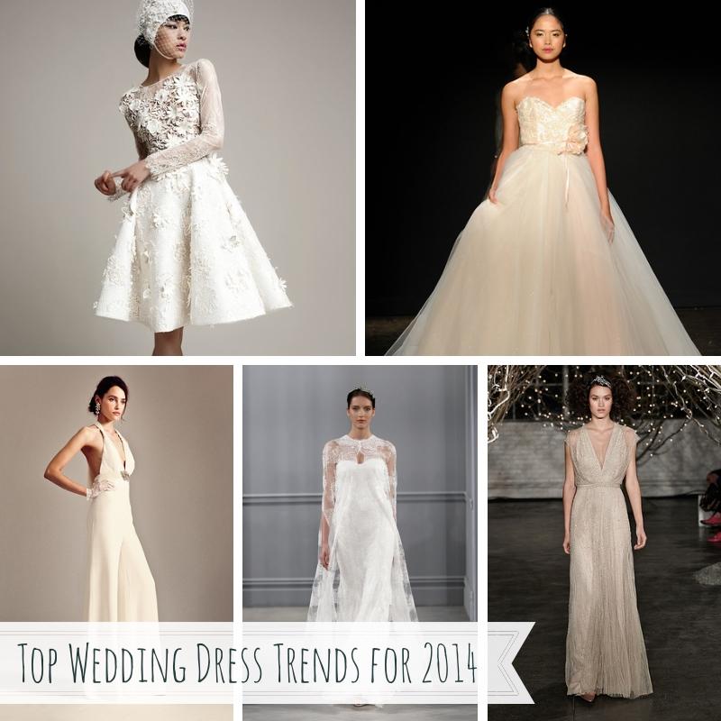 Top Wedding Dress Trends for 2014