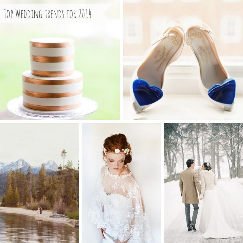 Top Wedding Trends for 2014