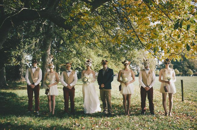 NZ DIY Woodland Wedding