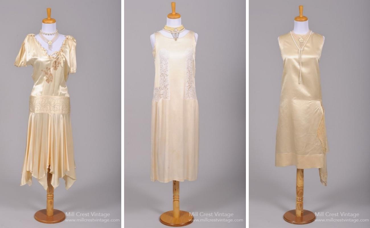 Art Deco Vintage Wedding Dresses from Mill Crest Vintage