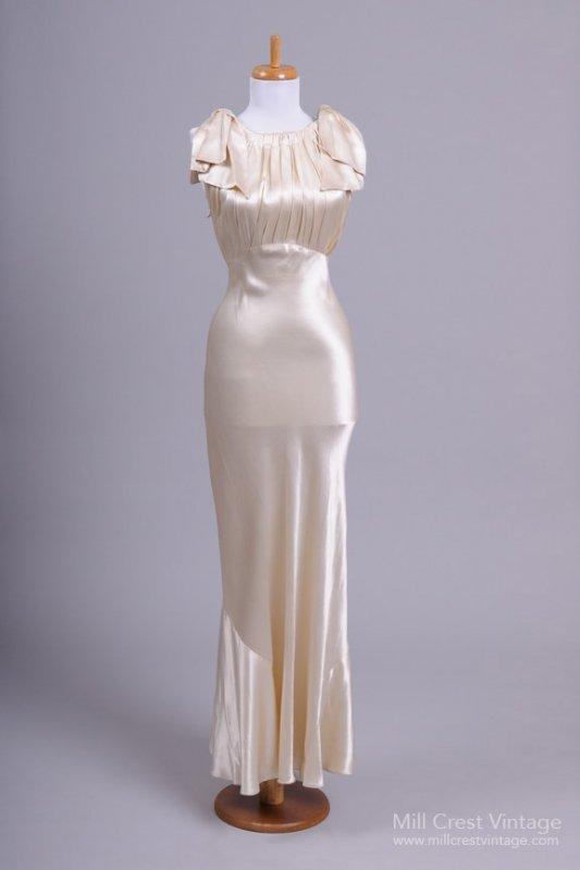 1930s Vintage Wedding Dress from Mill Crest Vintage