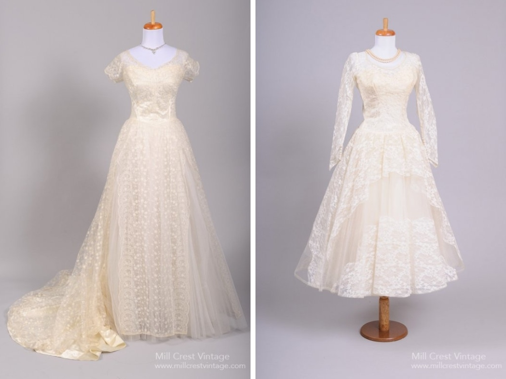 1950s Bridal Gowns from Mill Crest Vintage