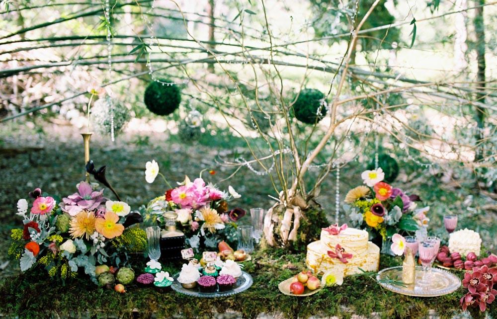 The Enchanted Garden Inspiration Shoot from Josie Richardson