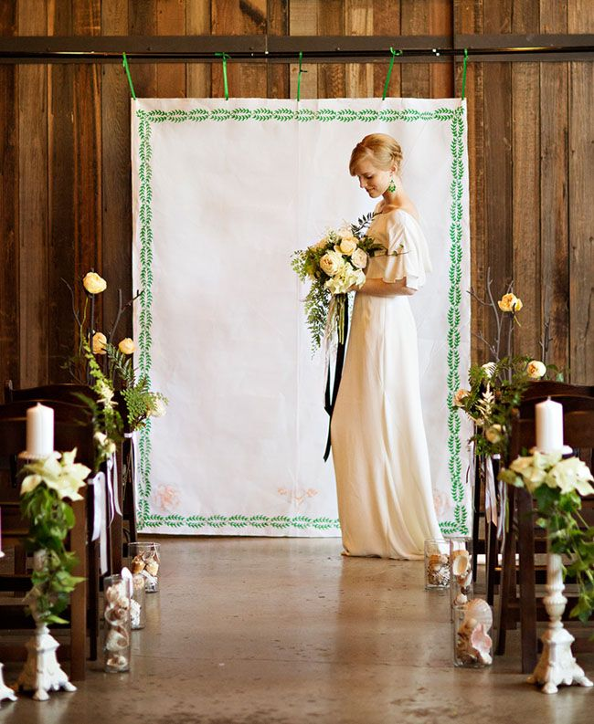 Wedding Altar Backdrops: Altar Backdrops : Chic Vintage Brides