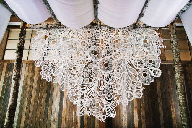 Aisle Style - Backdrops - Crochet