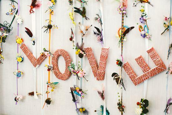 Aisle Style - Backdrops - LOVE