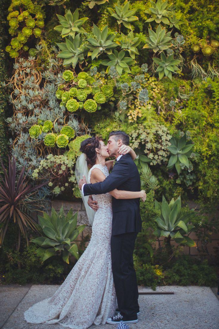 Aisle Style - Backdrops - Succulents