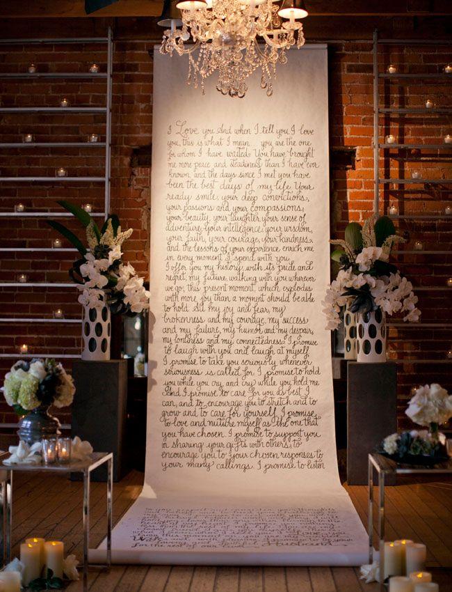 Aisle Style - Backdrops - Words