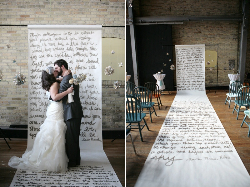 Aisle Style - Backdrops - Words