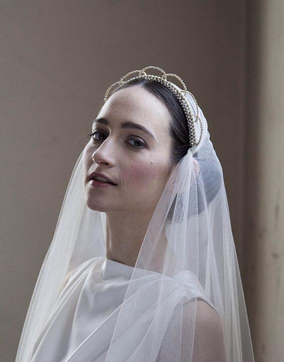 Terrific Bridal Crowns Tiaras Chic Vintage Brides Hairstyles For Men Maxibearus