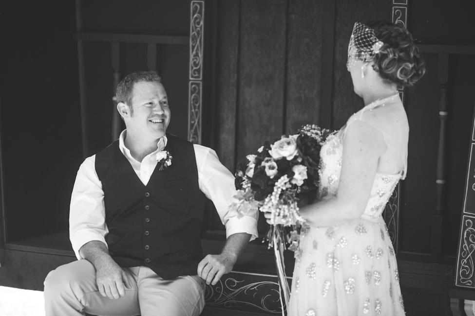 First Look - An Enchanting Montrose Berry Farm Wedding from Lara Hotz Photography