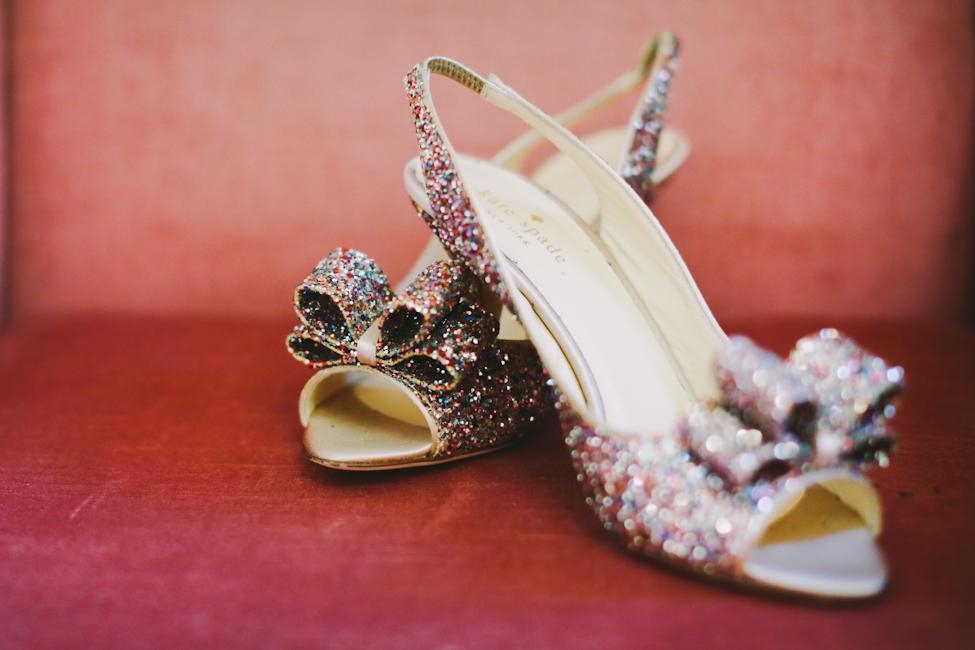 Kate Spade Rainbow Glitter Shoes by Lara Hotz Photography
