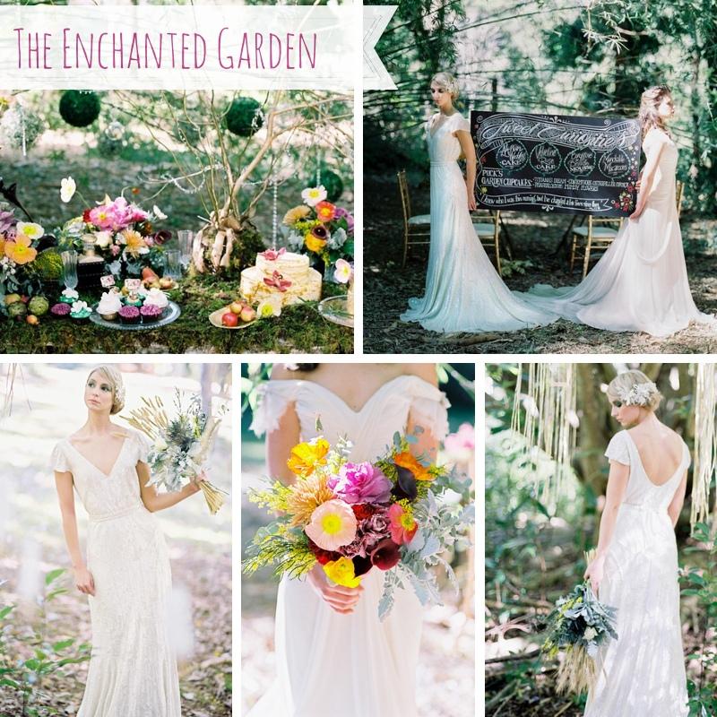 The Enchanted Garden Wedding Inspiration Shoot from Josie Richardson