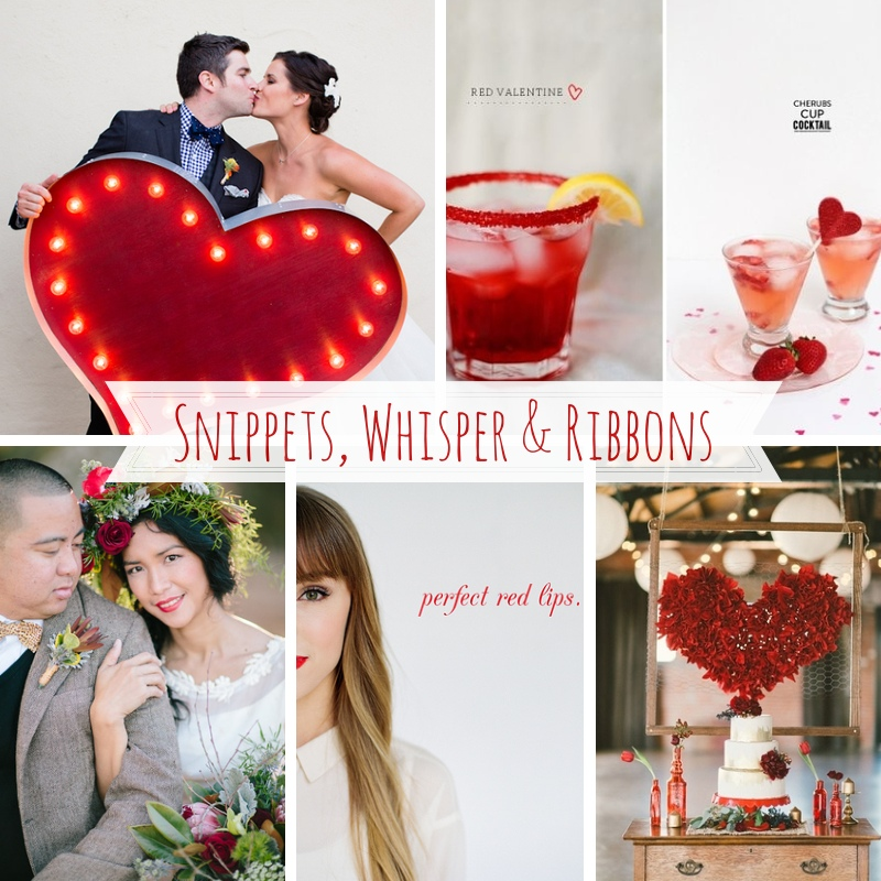 Snippets, Whispers & Ribbons - Valentines Day