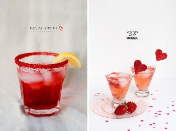 Valentines Cocktails & Mocktails