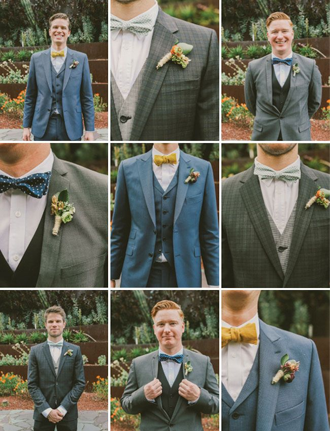 1920s Inspired Groom & Groomsmen
