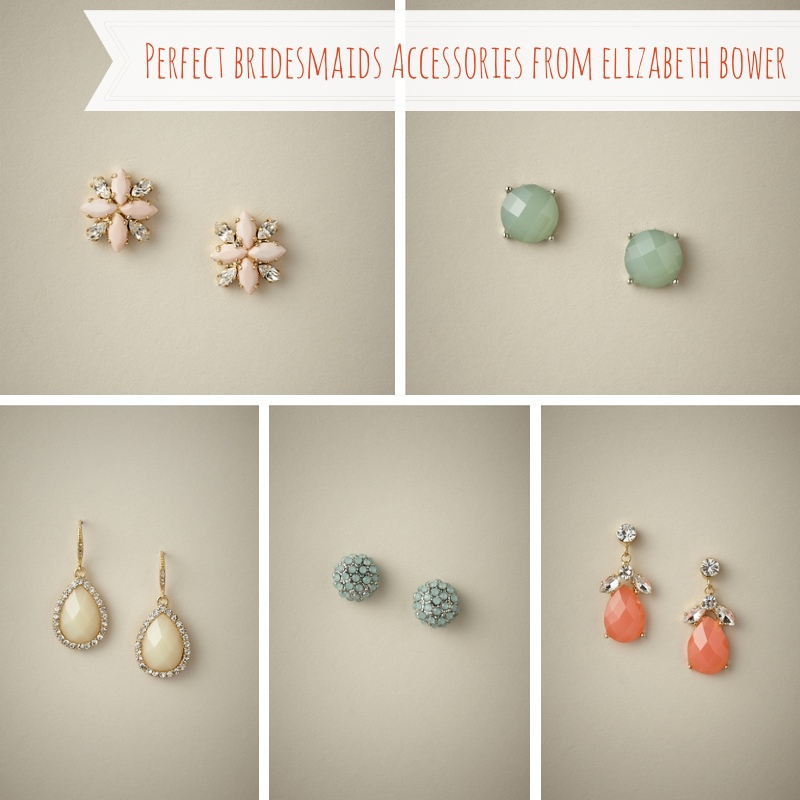 Bridesmaids Accessories from Elizabeth Bower