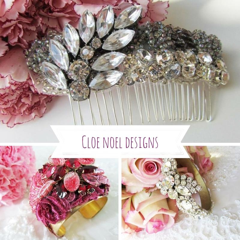 Cloe Noel Designs Bridal accessories