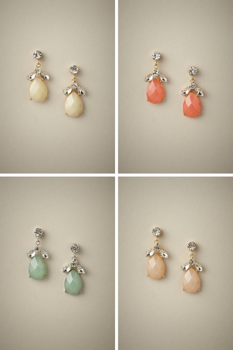 Liddy Drop Bridesmaids Earrings from Elizabeth Bower