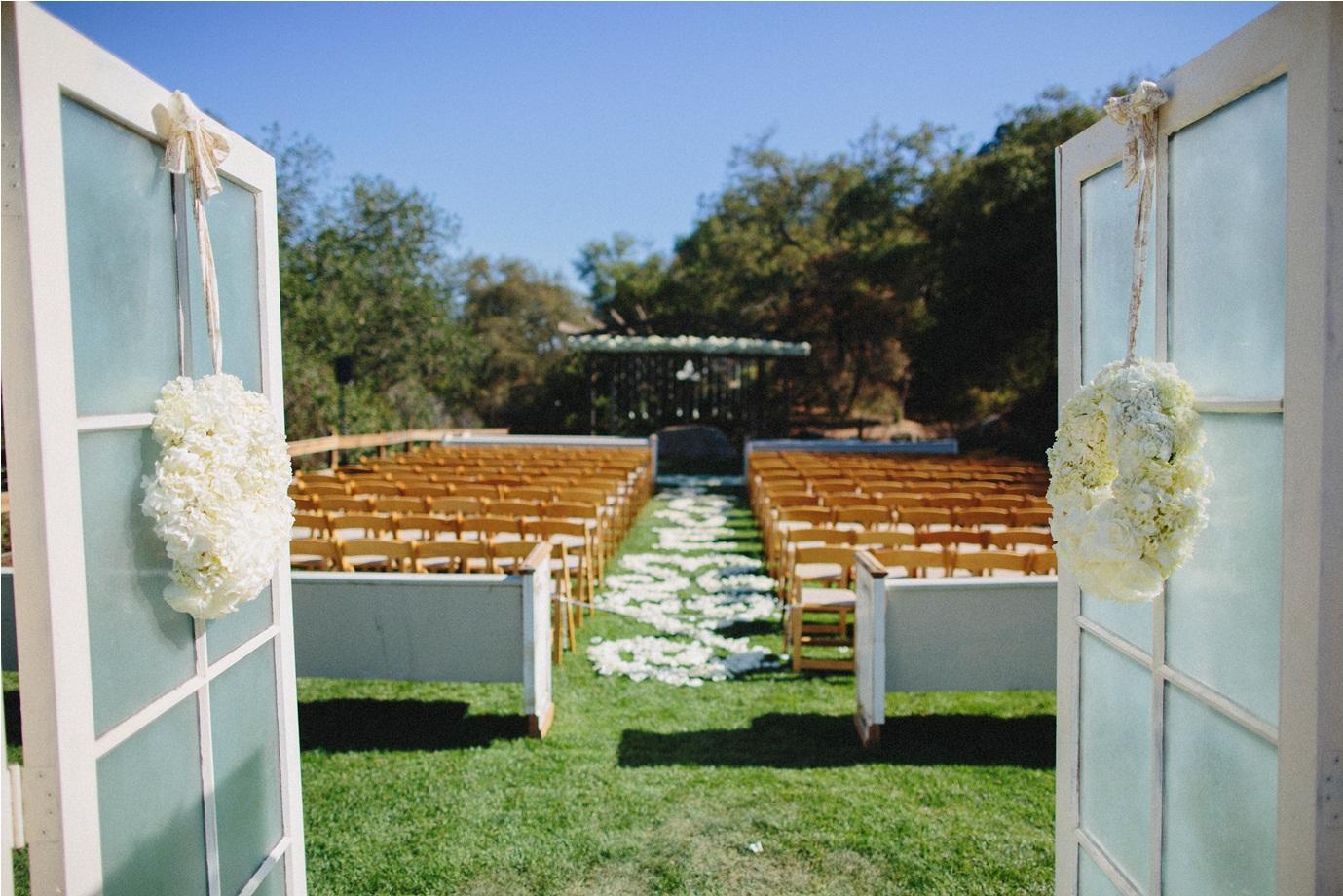 A Pretty Rustic Ranch Wedding with a Splash of Glamour