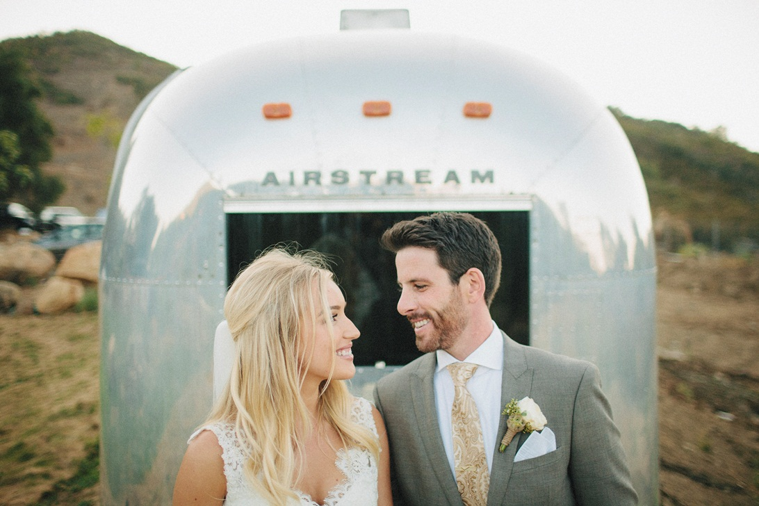 A Pretty Rustic Ranch Wedding with a Splash of Glamour