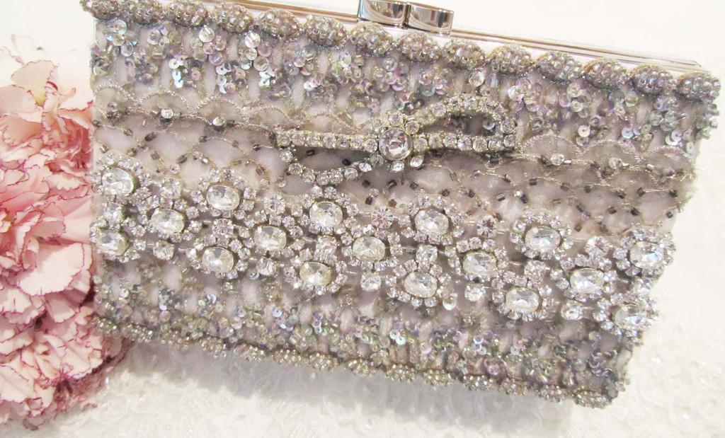 Rhinestone Clutch from Cloe Noel Designs Bridal Accessories
