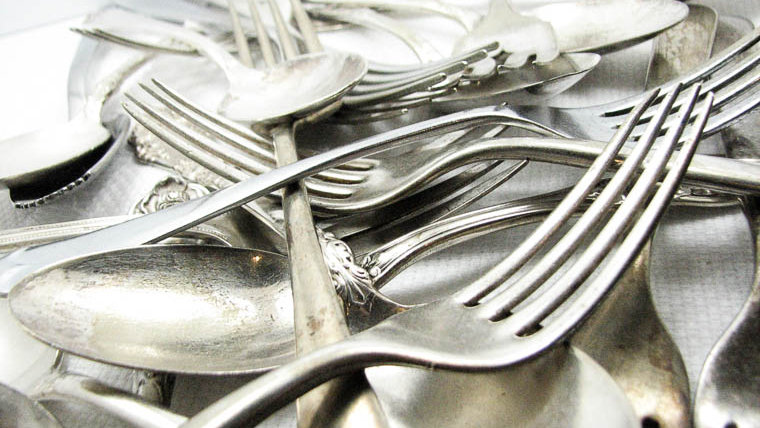 Vintage Silverware for Gifts from Dazzling Dezignz