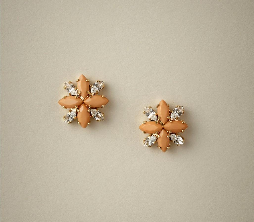 Liddy Stud Bridesmaids Earrings from Elizabeth Bower