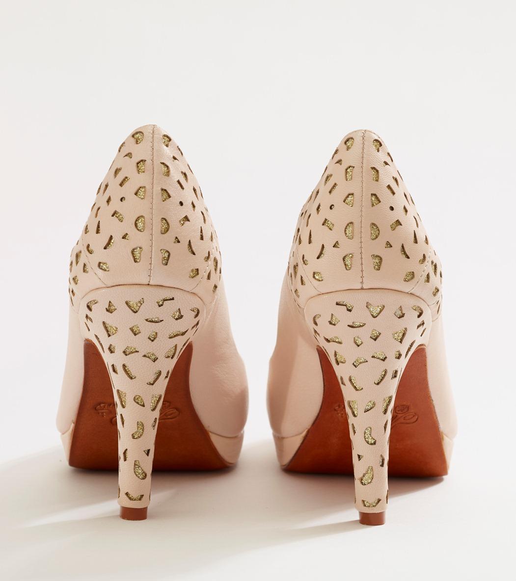 Beautiful Bridal Shoes from Merle & Morris - Baccara