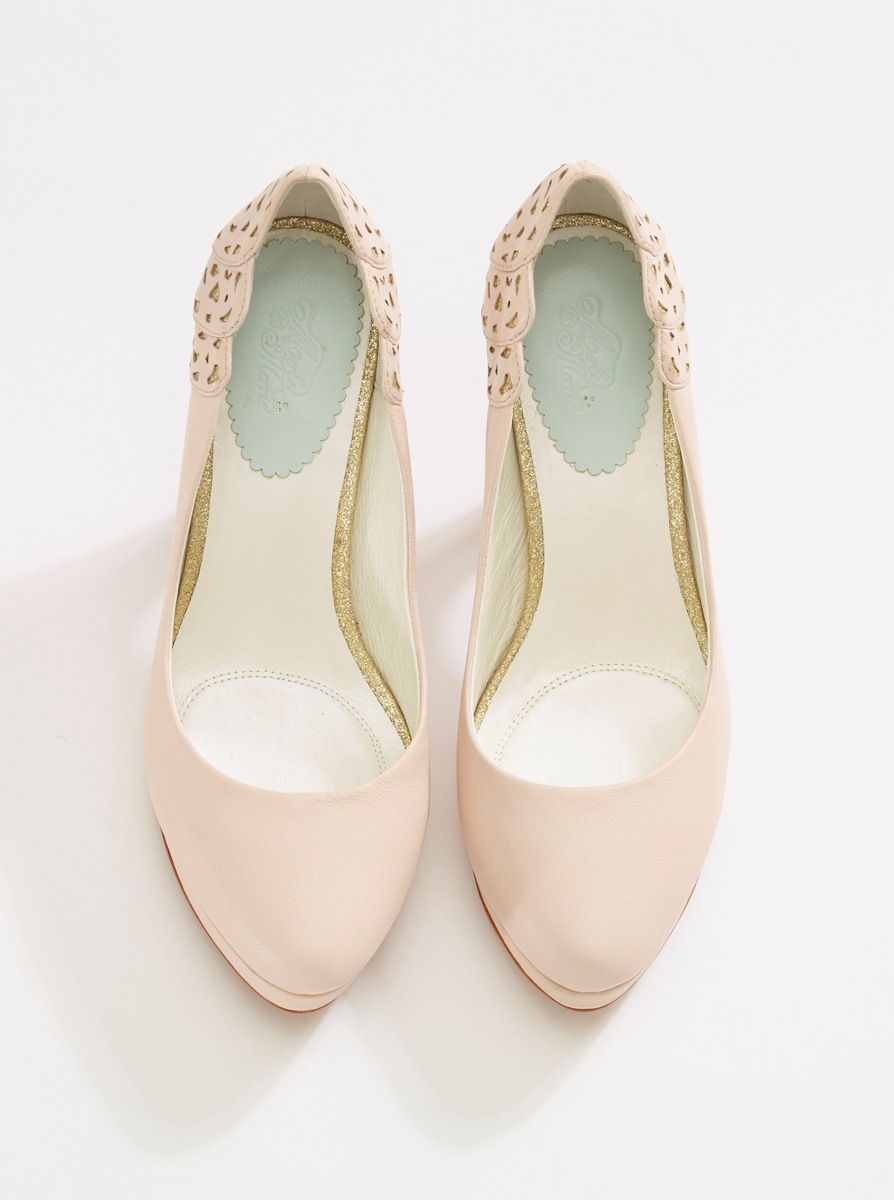 Beautiful Bridal Shoes from Merle & Morris - Baccara