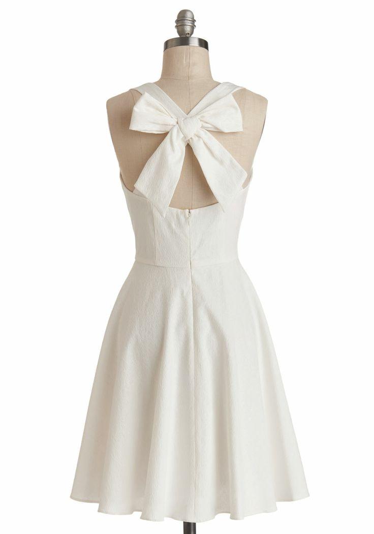 Bow Backed Dress